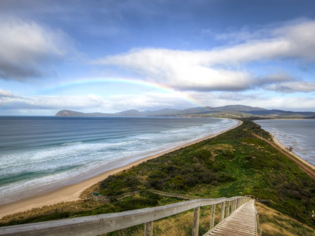 The neck at Bruny Island