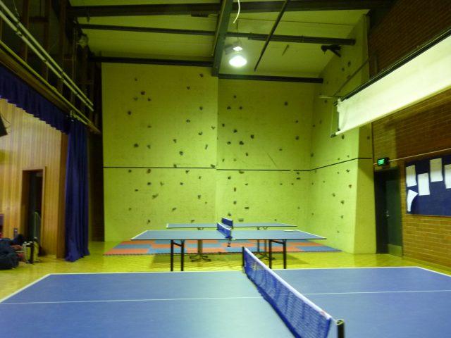 Ping Pong & Climbing