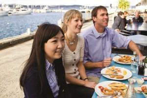International student with Australian host family