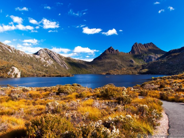 Cradle Mountain and Dove Lake within Lake St. Clair National Park